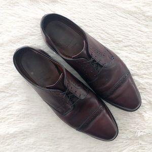 Allen Edmonds Brown Clifton Boucher Dress Shoe 11